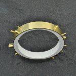 79BI/E - micro inerti/ottone placcato oro