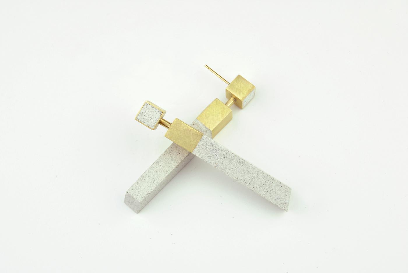 106BI/D - ottone placcato oro/micro inerti