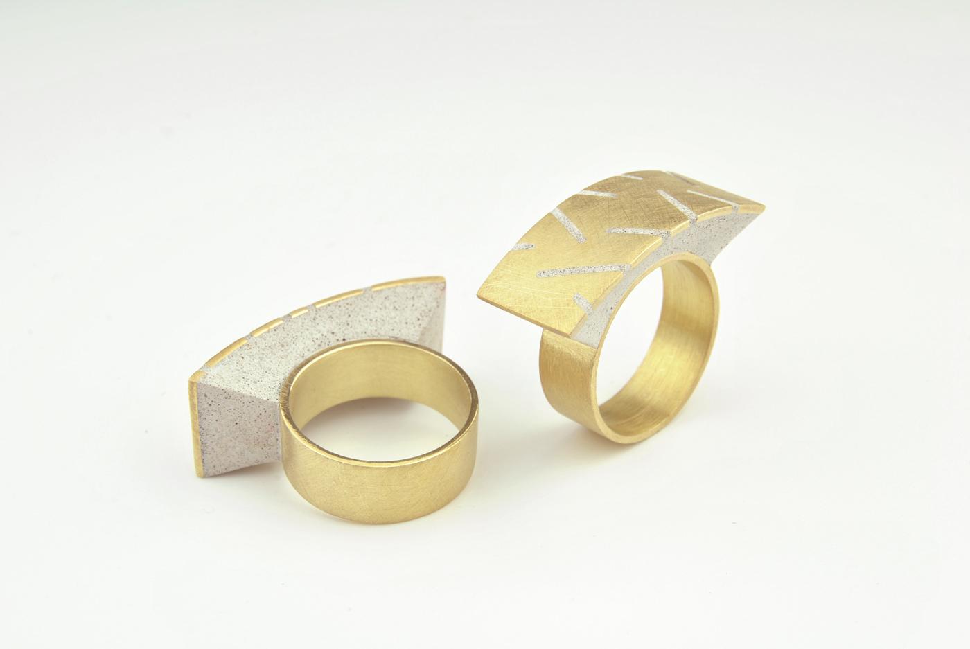107BI/D - ottone placcato oro/micro inerti